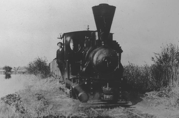 1896 Torfbahn Lok 1