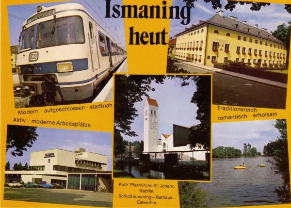 1972 S-Bahn. Postkarte um 1975