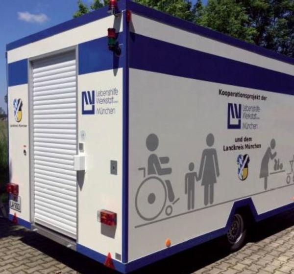 Mobile behindertengerechte Toilette für Ihre Veranstaltung