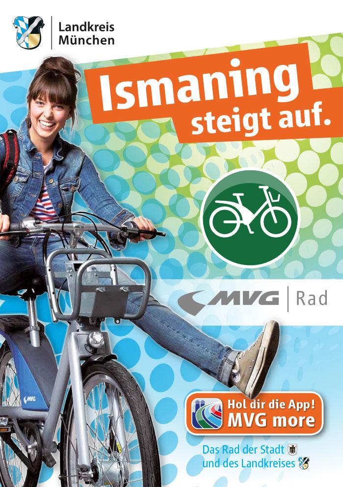MVG-Mieträder in Ismaning