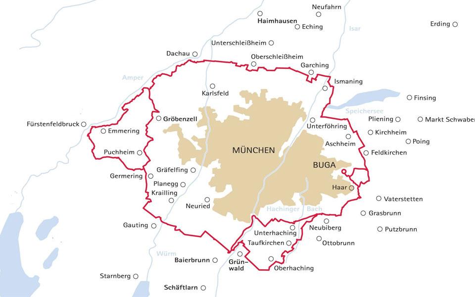 RadlRing München – 170 Kilometer rund um München