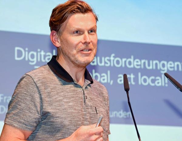 Frank Maenz, Digital Advisor Mittelstandskunden, Microsoft Deutschland
